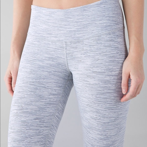 afba99bf6 lululemon athletica Pants - Lululemon grey and white leggings